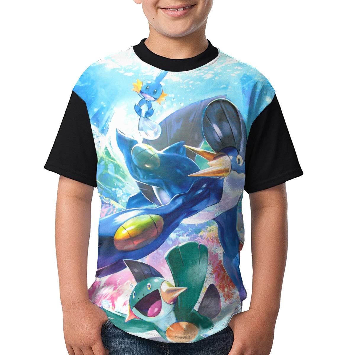 Brocade Carp Mudkip Boy Fation Shirts