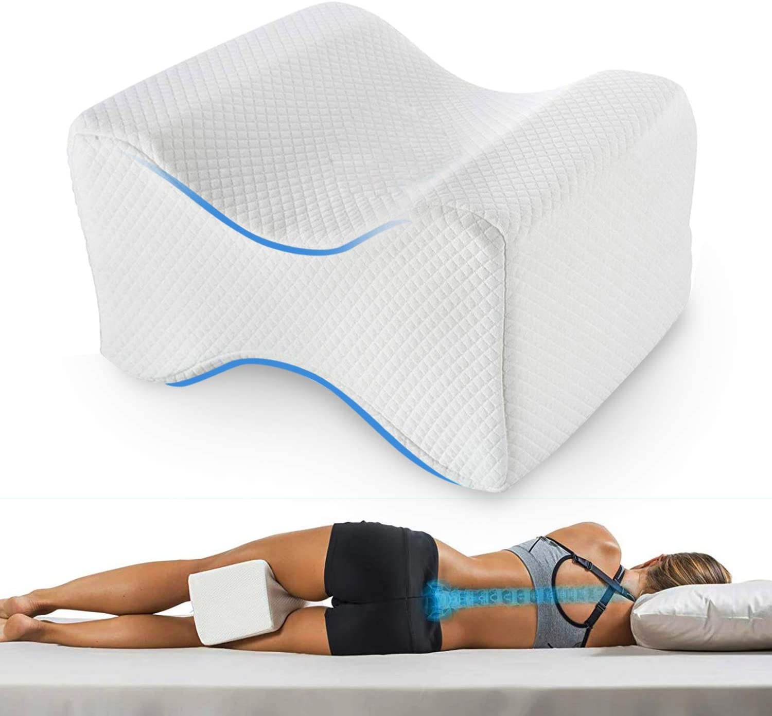 SRXWO Knee Pillow for Side Sleepers