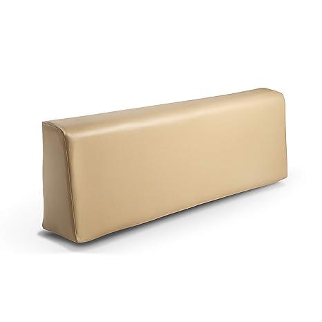 SUENOSZZZ-ESPECIALISTAS DEL DESCANSO Respaldo colchoneta para Sofas de Palet Color Beige (1 x Unidad) Cojin Relleno con Espuma | Cojines para Chill ...