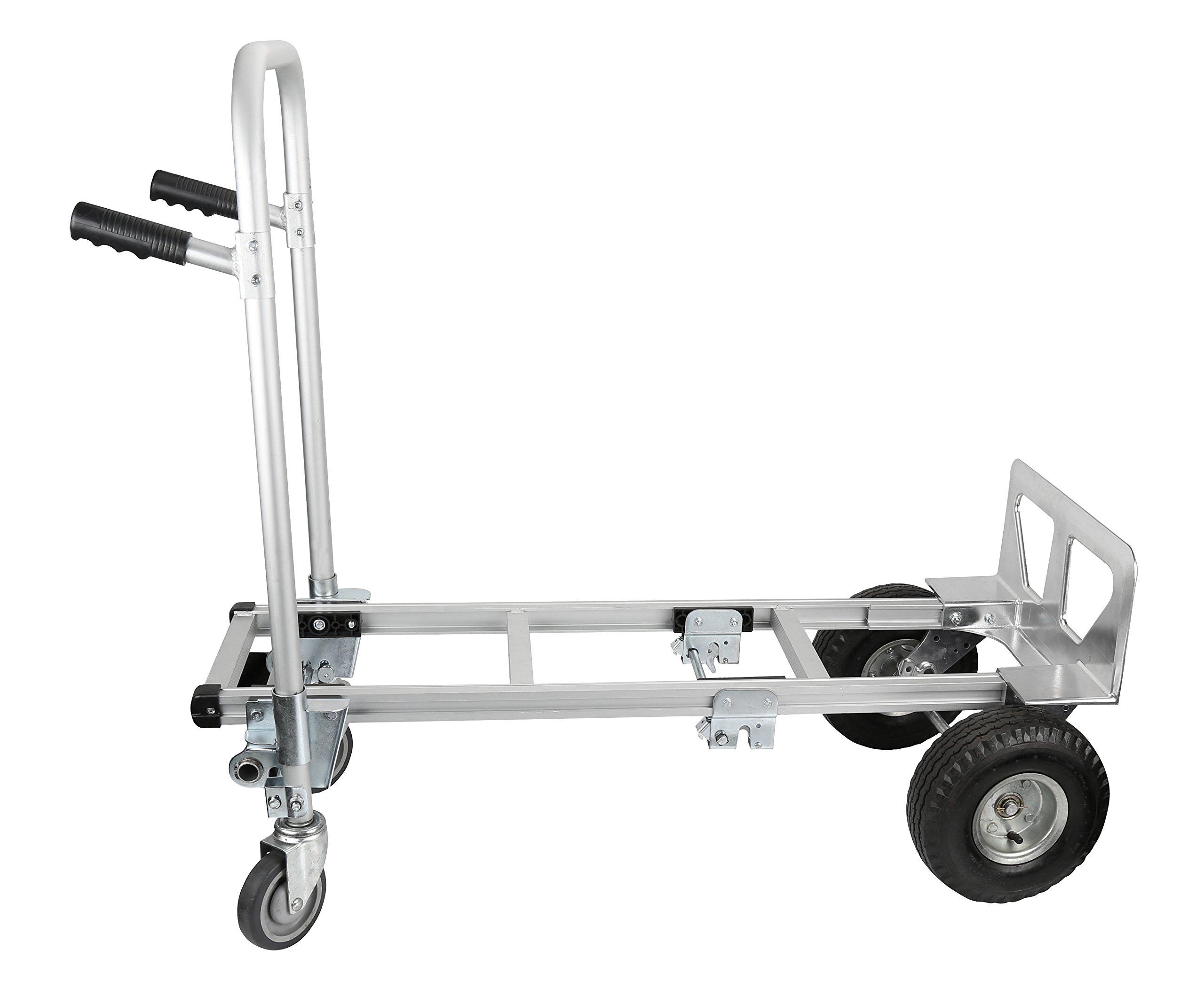 b4e2c451d792 Pack-N-Roll 83-295-917 Convertible Aluminum Hand Truck Dolly