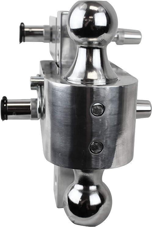 Uriah Products UT623410 Adjustable Aluminum Mount with 3 Interchangeable Balls-6 Drop