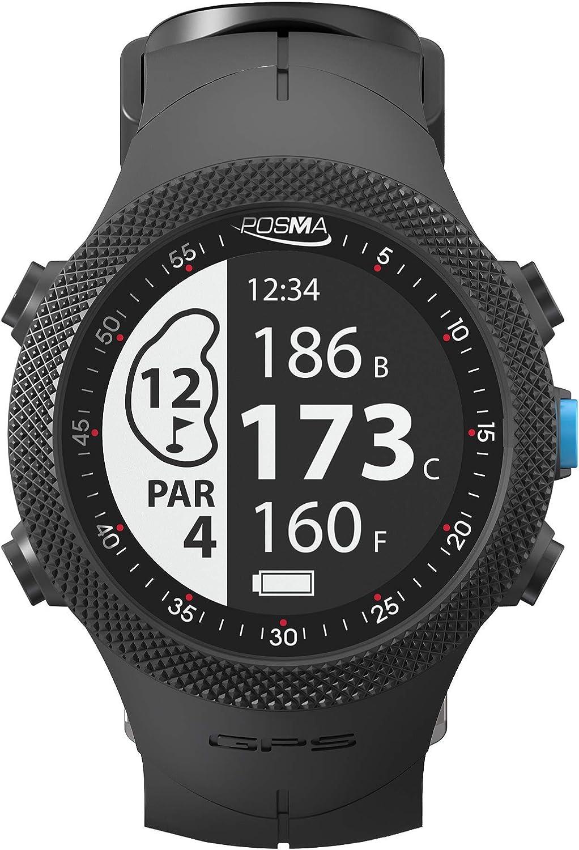 POSMA GB3 Golf Triatlón Sport GPS Watch – Buscador de rango – Running Ciclismo Natación Reloj inteligente GPS – Android iOS App