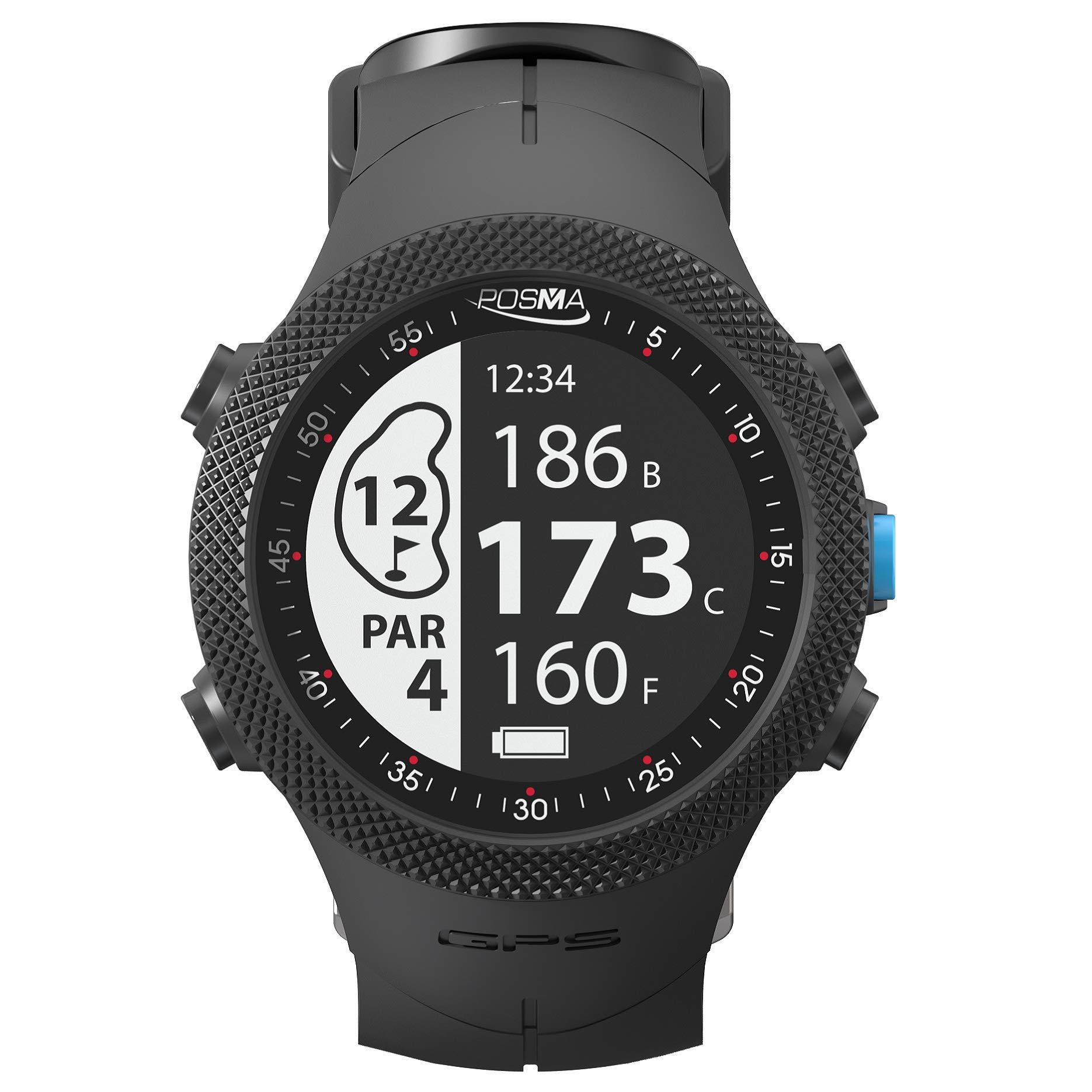 POSMA GB3 Golf Triathlon Sport GPS Watch - Range Finder - Running Cycling Swimming Smart GPS Watch - Android iOS app by POSMA