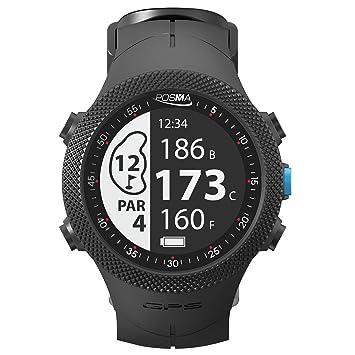 POSMA GB3 Golf Triathlon Sport Reloj GPS - Range Finder - Running Ciclismo Natación Smart GPS Watch - Android iOS App: Amazon.es: Deportes y aire libre
