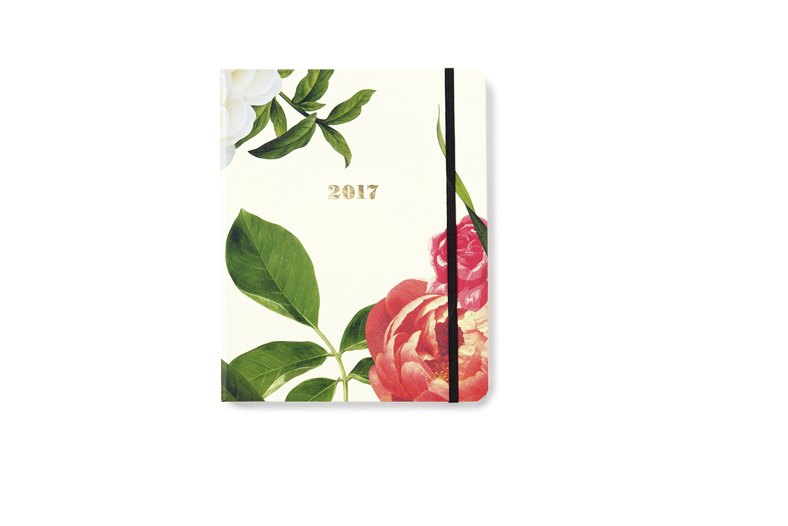 kate spade new york Conceal Sprial 2016-17 Large Agenda, Floral by Kate Spade New York