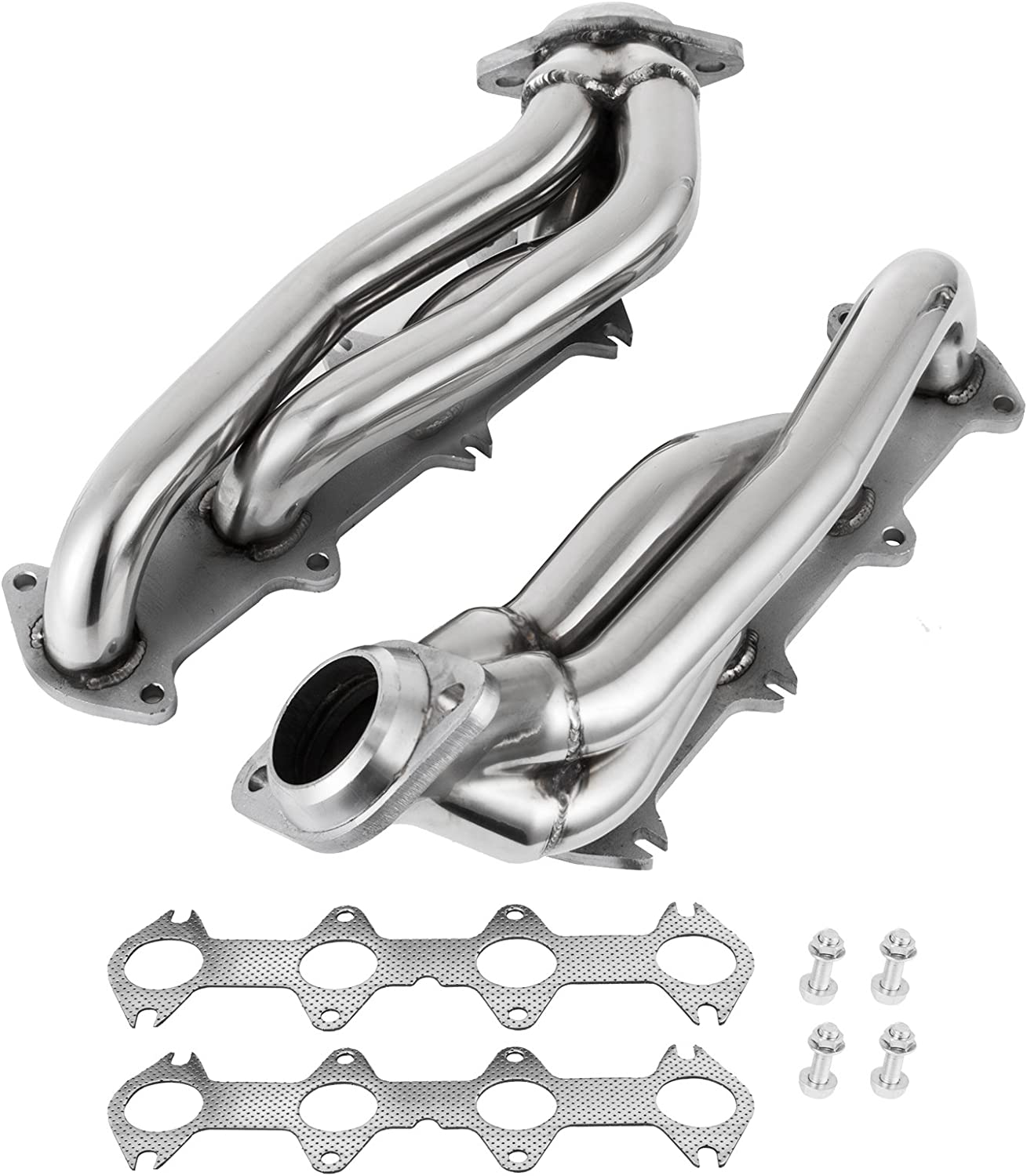 For Ford F150 04-10 5.4L V8 Exhaust Manifold Headers Shorty