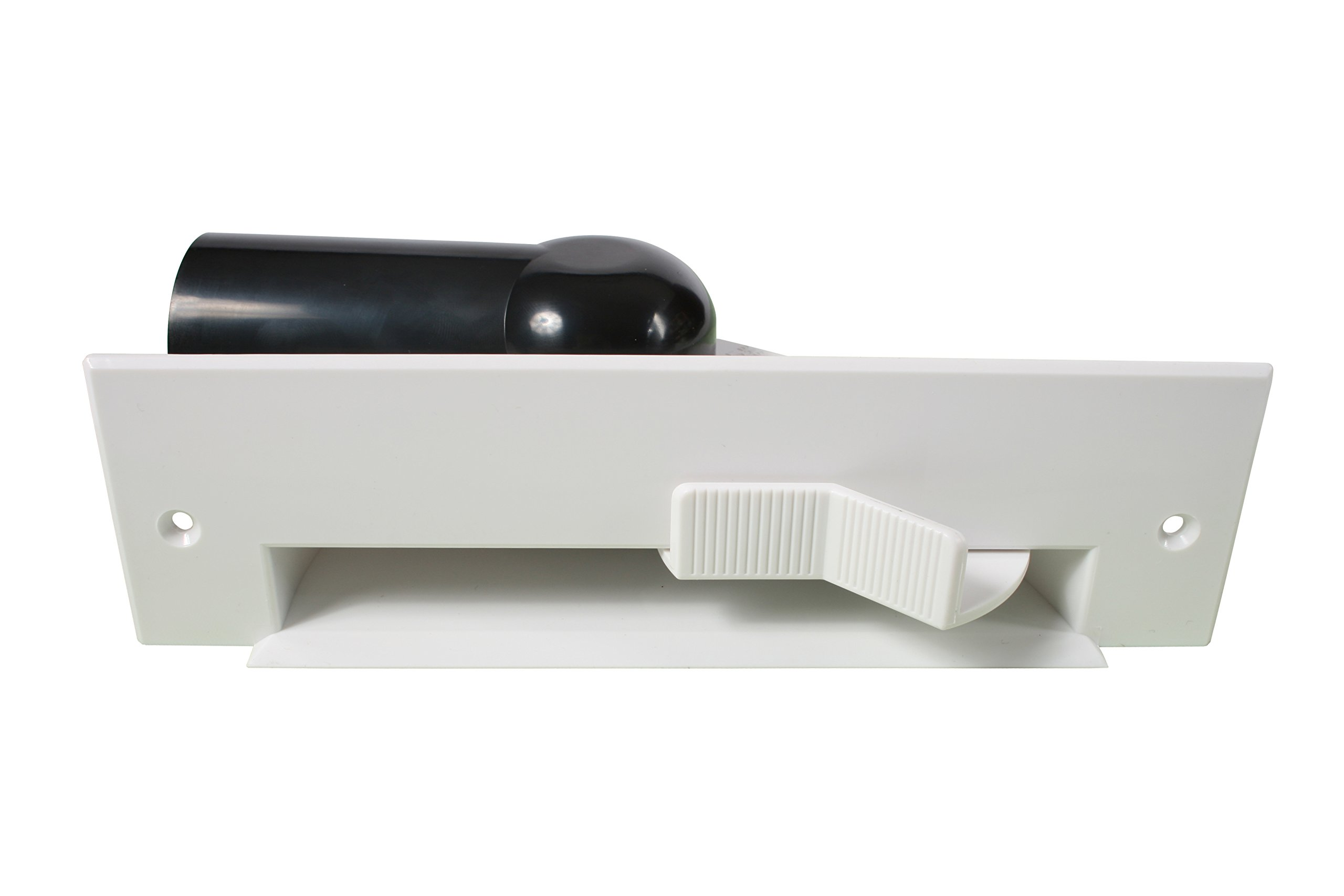 Cen-Tec Systems 38661 Central Vacuum Automatic Dustpan, White