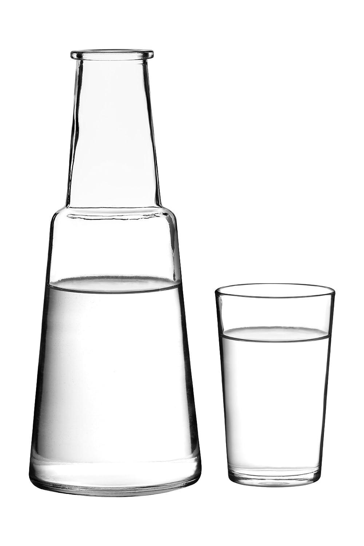 Premier Housewares Glass Carafe And Tumbler Set: Amazon: Kitchen &  Home