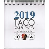 Taco Calendario  Sagrado Corazón 2019 Peana.