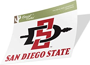 San Diego State University SDSU Aztecs NCAA Vinyl Decal Laptop Water Bottle Car Scrapbook (Sticker - 00028)