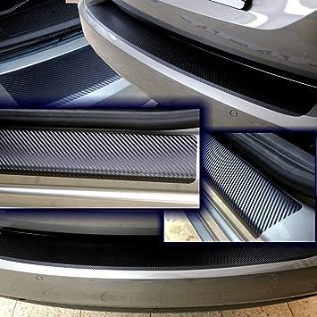 Sparset Ladekantenschutz Einstiegsleiste Schutzfolie Carbon 3d Auto Folie Lackschutz 10177 2157 Auto