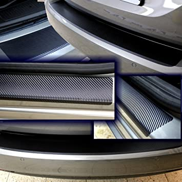 VOLVO XC-60  Ladekantenschutz Lackschutzfolie XC 60 Schutzfolie Carbon 3D 10106