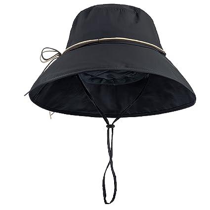 Amazon.com   TRIWONDER Women Wide Brim Sun Hat 74f89ca3f9f