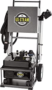 US Steam US6100 Eagle Vapor Commercial Steam Cleaner with Cart