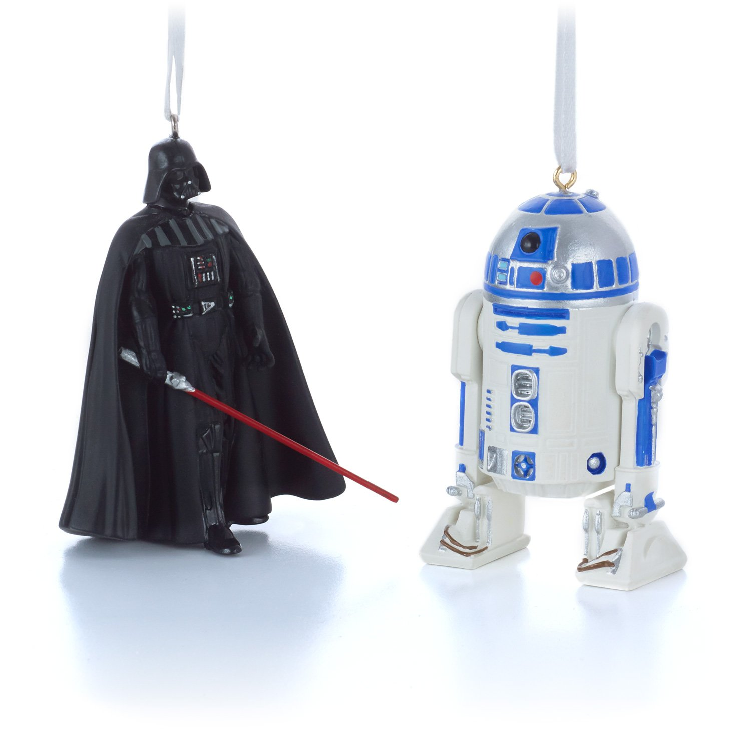 Hallmark Star Wars Darth Vader and R2D2 Christmas Ornaments, Set of 2