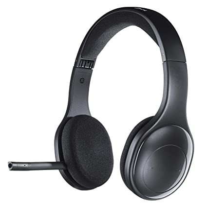 4735c2678a1 Amazon.com: Logitech H800 Bluetooth Wireless Headset with Mic for PC,  Tablets and Smartphones: Electronics