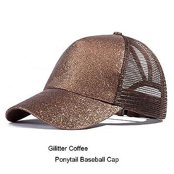 YPORE Diseño De Gorras De Cola De Caballo para Mujer Camo Patrón ...