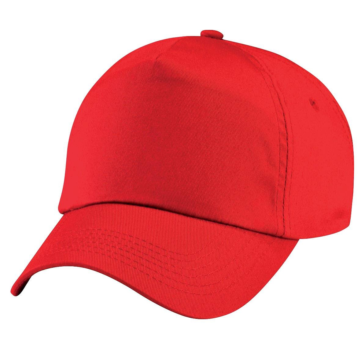 Cap Grupo 5 Beechfield junior original - Bright Red