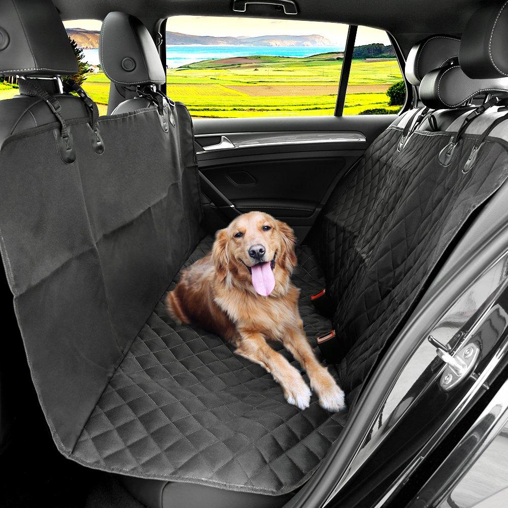 KYG Cubierta de Asientos de Coche Impermeable para Perros Protector de Mascotas de Estilo Hamaca Funda