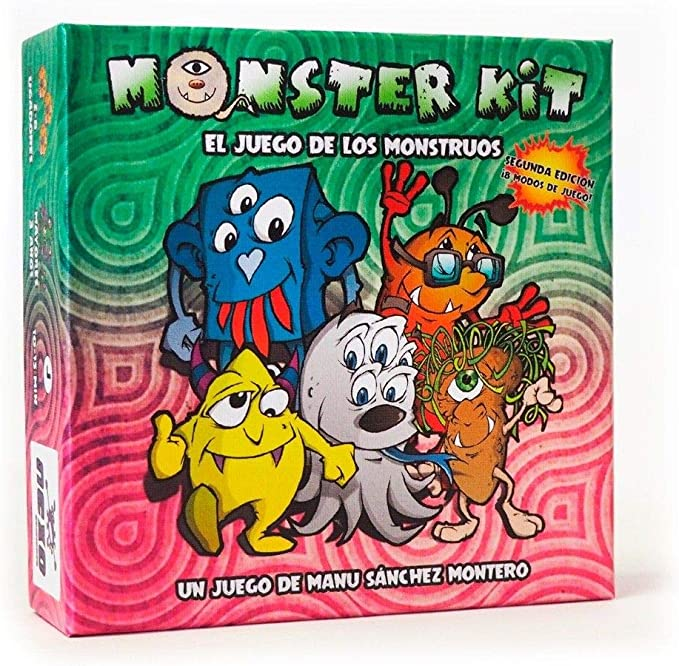 Monster Kit - segunda edicion - juego de mesa para niños (edición en castellano): Amazon.es: Juguetes y juegos