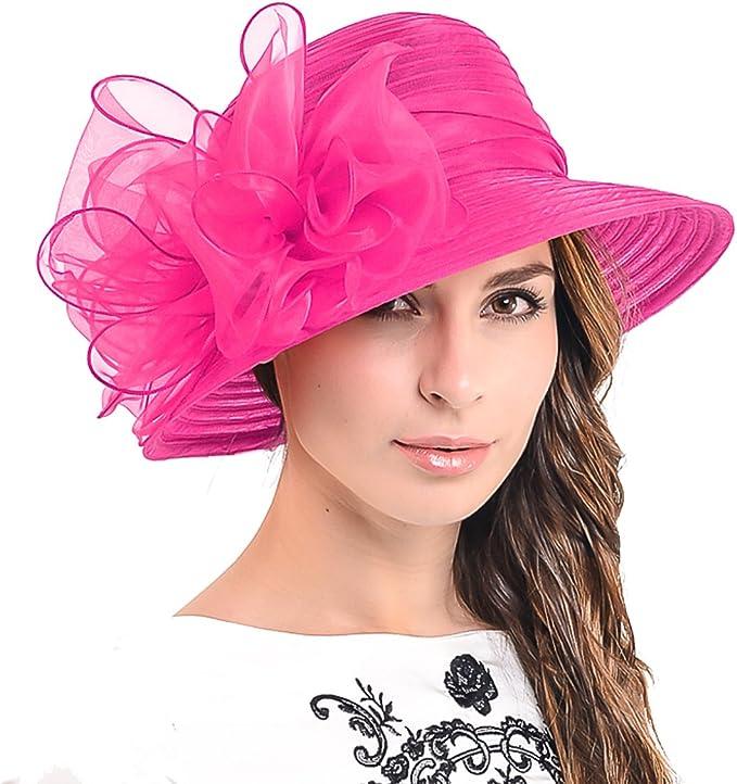 HISSHE - Pamela - para Mujer Rosa Rosa (b) Medium