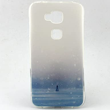Voguecase® Para Huawei G8,TPU Funda de Silicona de Gel ...