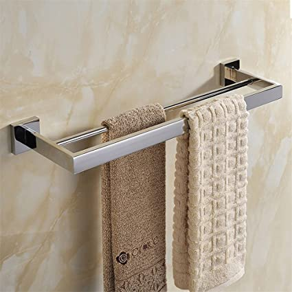 WEARE HOME Double Barres porte serviettes Mural Acier Inoxydable ...