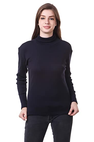 Clo Clu Women'S Navy Blue Tops Tops