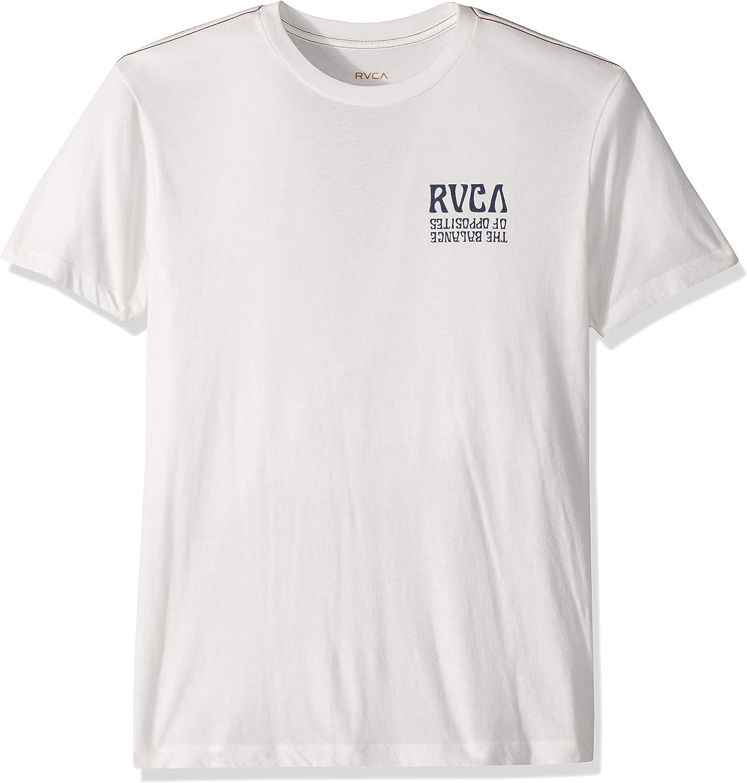RVCA Hombre M420TRDA Manga Corta Camiseta: Amazon.es: Ropa y accesorios