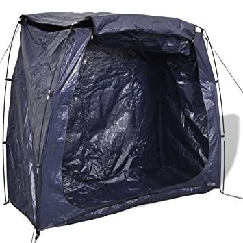 vidaXL Bike Bicycle Storage Tent Cave Cover Shed Shelter Mobile Garage 200x80x150 cm  sc 1 st  Amazon UK & vidaXL Bike Bicycle Storage Tent Cave Cover Shed Shelter Mobile ...