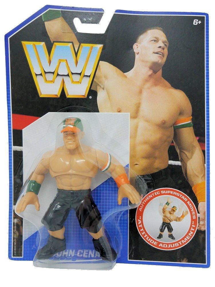 WWE Retro John Cena Wrestling Figure by Mattel