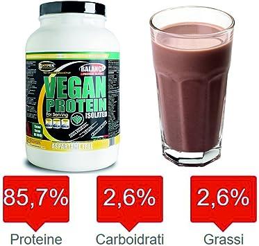 Proteínas Veganas 100% vegetariana Vegan Protein Isolated ...