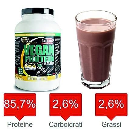 Proteínas Veganas 100% vegetariana Vegan Protein Isolated 3000 gr sabor vainilla. Para los vegetarianos
