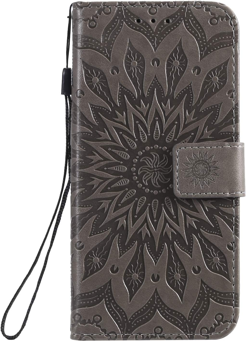 NEKTU020498 Blue NEXCURIO Wallet Case for Xiaomi Mi A3 with Card Holder Side Pocket Kickstand Shockproof Leather Flip Cover Case for Xiaomi MiA3