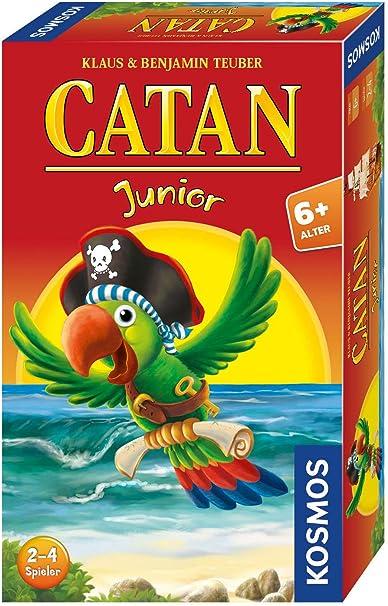 CATAN Junior Mitbringspiel: 2 - 4 Spieler: Teuber, Klaus, Teuber, Benjamin: Amazon.es: Juguetes y juegos