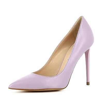 Evita Shoes Alina Damen Sling Pumps Glattleder Schwarz 40 IeBl1S