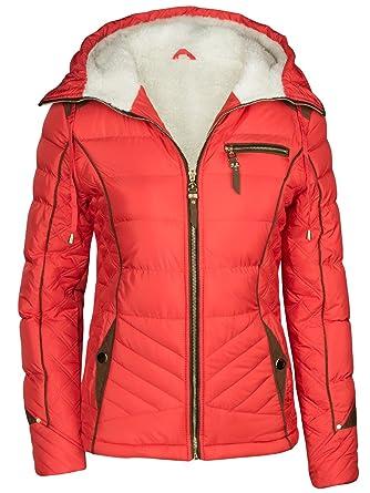 tolle Preise starke verpackung heiß-verkauf freiheit Damen Winter Jacke GEFÜTTERT KURZ STEPP DAUNEN Optik Kapuze Skijacke WARM