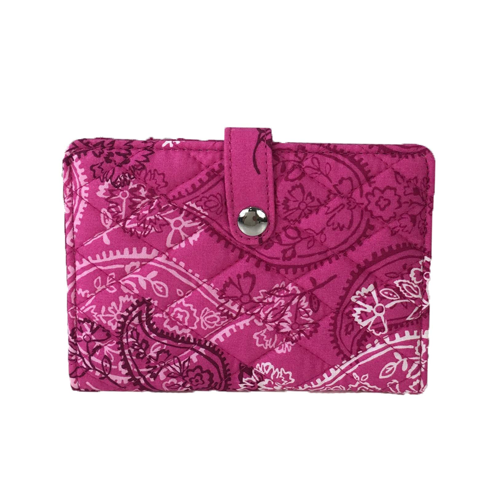 Vera Bradley Signature Travel Passport Wallet, Stamped Paisley