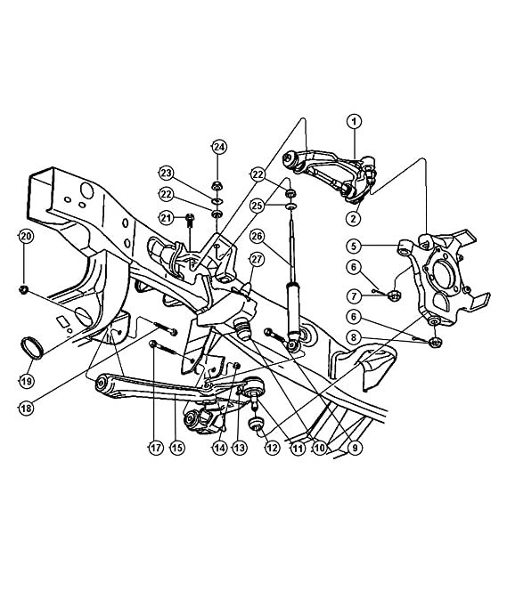 Dodge Dakota Steering Parts