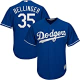 87f8dd88c51 Majestic Cody Bellinger Los Angeles Dodgers MLB Youth Blue Alternate Cool  Base Replica Jersey