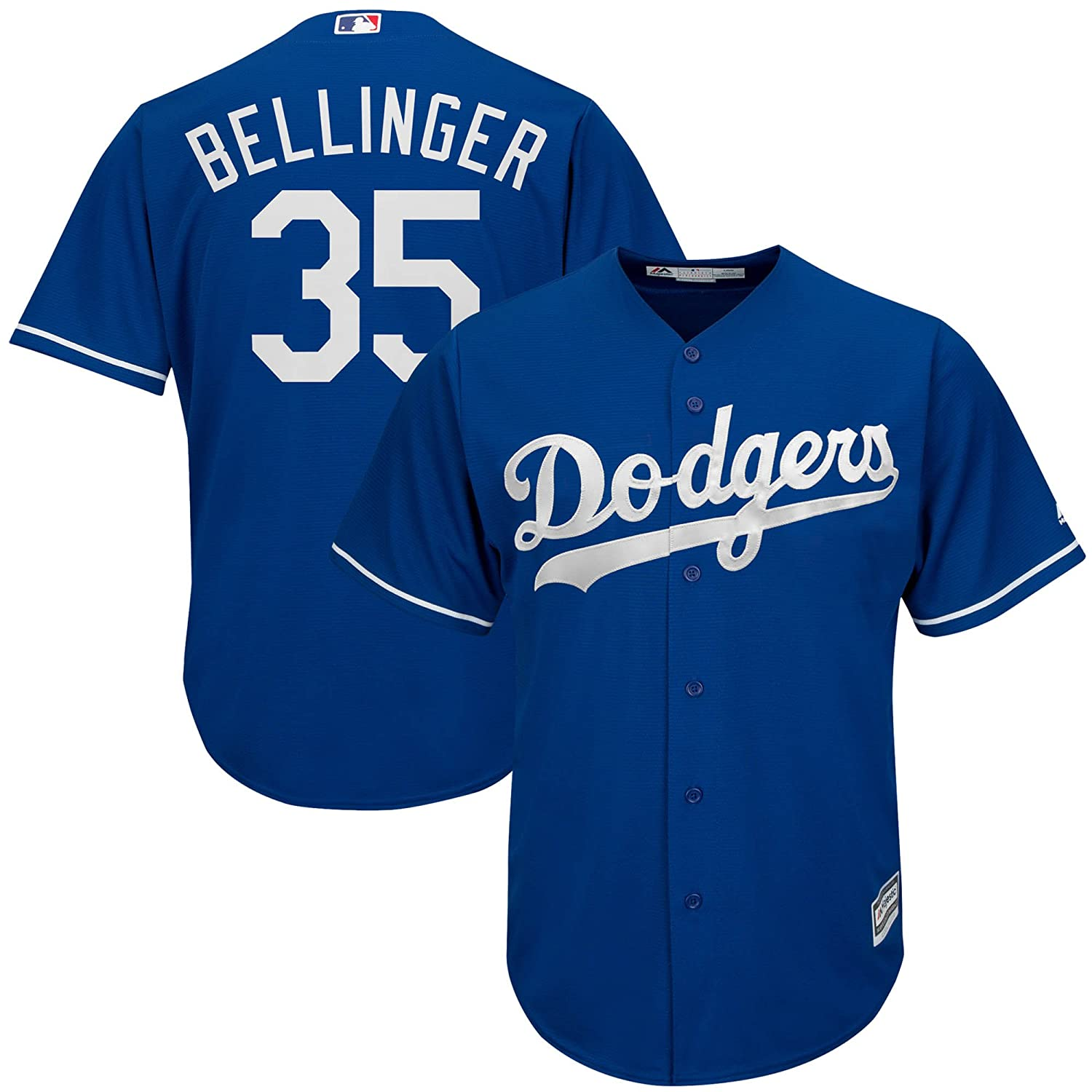 Amazon.com  Majestic Cody Bellinger Los Angeles Dodgers MLB Youth Blue  Alternate Cool Base Replica Jersey  Clothing cf1afd10f
