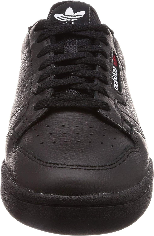 adidas Continental Herren 80 Schuhe Black Scarlet College Navy