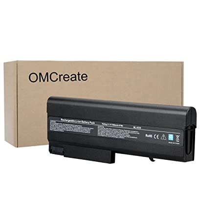OMCreate 9-Cell Battery for HP EliteBook 8440P 6930P 8440W / Compaq 6730B 6735B 6530B / ProBook 6440B 6445B 6540B 6545B, fits P/N 482962-001 HSTNN-UB69 - 12 Months Warranty Laptop Accessories at amazon