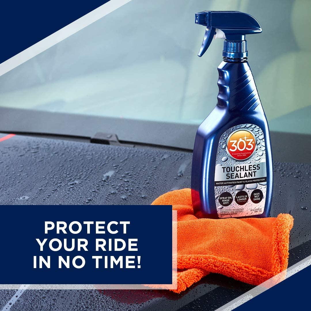 303 Touchless Sealant - SiO2 Water Activated Paint & Glass Protection - Spray On, Rinse Off - Lasts 2X Longer Than Wax - Deep, Wet Shine, 32 fl. oz....