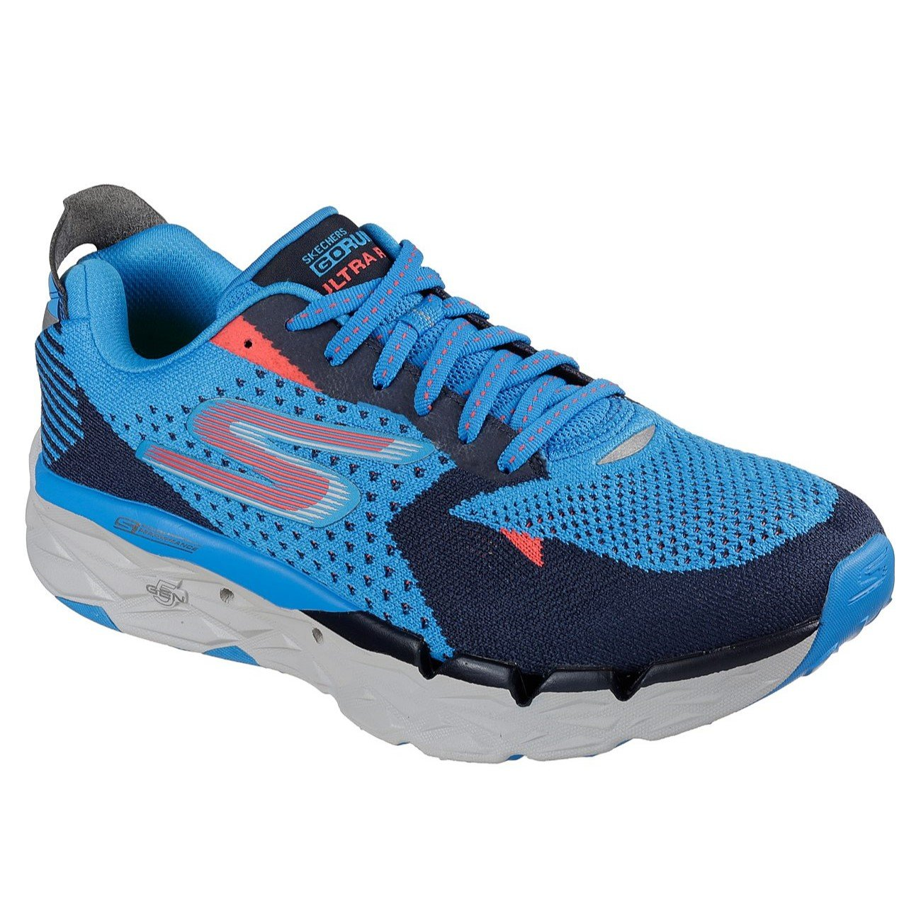 SkechersメンズGo Run Ultra R B07D4LSY31 12.5 D(M) US ブルー