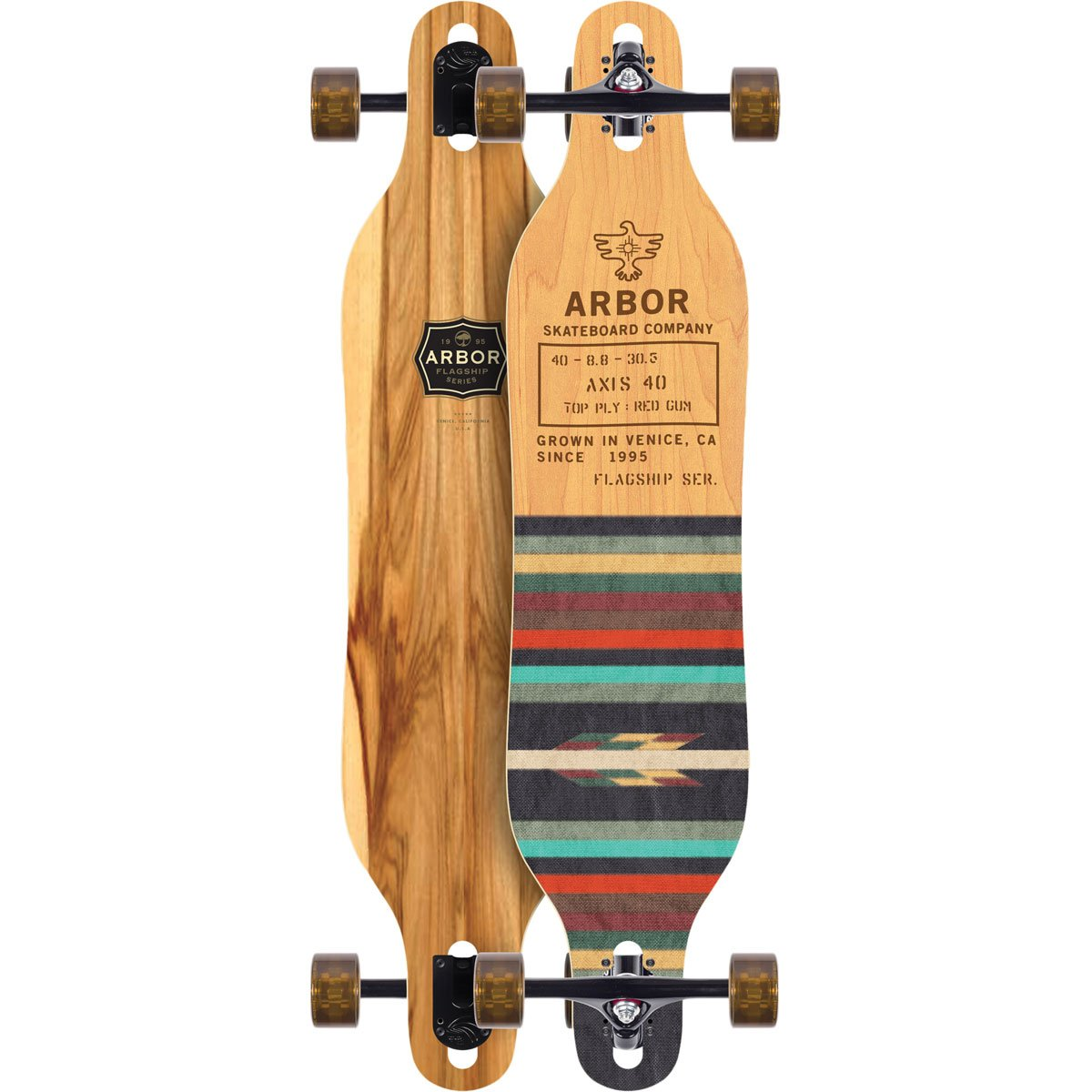 Arbor Axis 40 Complete Skateboard (Flagship, 2018)