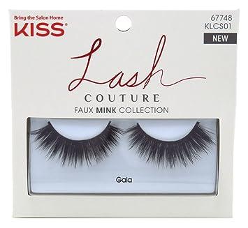 83b6a0e8f5c Amazon.com : Kiss Lash Couture Faux Mink Gala (3 Pack) : Beauty