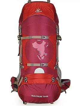 mochilas montaña campaña profesional senderismo mochila hombres y mujeres viajan al aire libre del alpinismo del