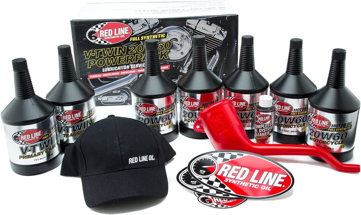 Red Line 90231 Big Twin 20W60HD PowerPack