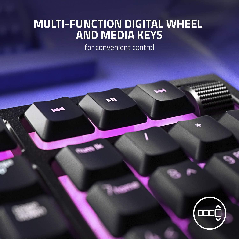 Razer Ornata V2 Mecha-membrane Gaming Keyboard multi-function